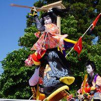 ホーランエンヤ 中日祭〜櫂伝馬船は、出雲郷橋付近を周遊。その後は、参道に上がって阿太加夜神社へ向かう陸船に。眼前の櫂伝馬踊りがまた圧巻です〜