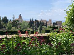 2019GWスペイン   3日目 グラナダ ~アルハンブラ宮殿を大満喫