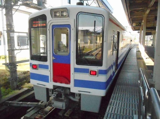土合駅からは上越線で六日町に移動して北越急行ほくほく線に乗り、十日町に向かいました。