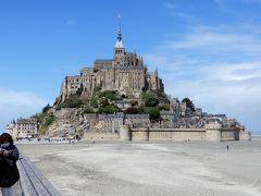 フランスの8つの世界遺産を巡る旅【11】6日目(車窓と【世界遺産】モンサンミッシェル1)