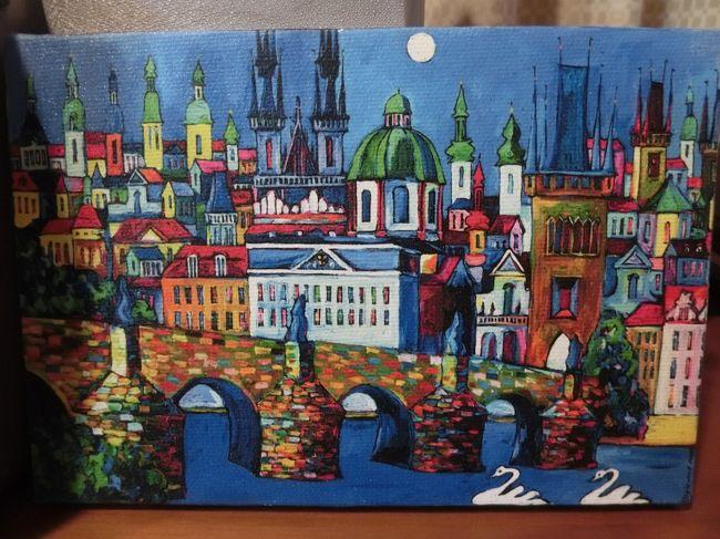 マイルで行く母娘ウィーン・プラハ 芸術とグルメ三昧旅 6泊8日⑥ 5日目 ウィーン-プラハ鉄道移動・カレル橋など