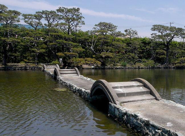 和歌山ドライブ旅行4-養翠園,湊御殿,水軒堤防 御三家じゃなければ無理な素晴らしい庭園