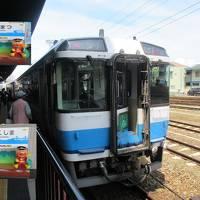 初夏の山陽・四国旅(20)特急うずしお号に乗って高松から徳島へ