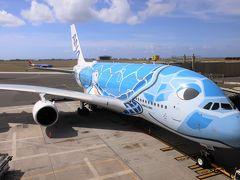 【2019海外】ANA A380 FLYING HONU で行くホノルル #04 ~復路 ビジネスクラス搭乗記~