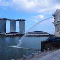 2016.3 シンガポール ② 定番の観光 アラブストリート ~ マーライオン公園 ~ マリーナベイサンズ