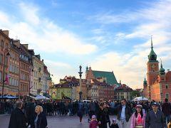 整然できれいな街ワルシャワ