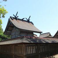 山陰へ2泊3日家族旅行�出雲大社、日御碕神社、稲佐の浜他