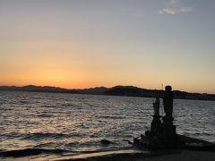 宍道湖の夕日~島根・鳥取の旅