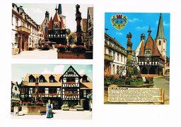 セピア色の思い出:1984年夏の休暇の最終日にミヒェルシュタットとフュルシュテナウ城を訪れた。