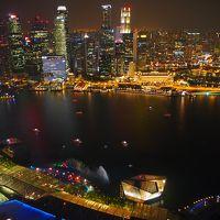 2016.3 シンガポール ⑤ マリーナベイサンズから夜景を楽しみ、台北乗り継ぎで帰国
