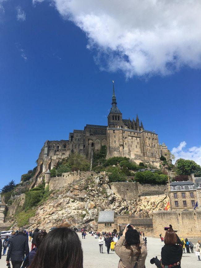 GWに、パリ旅行。ツアーを使ってモンサンミッシェルへ観光してきました!