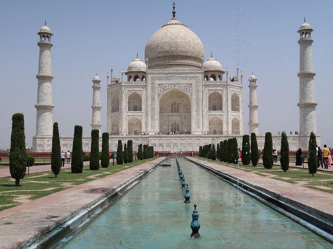インドでゴールデンウイーク4泊5日***(2)タージマハルとホテル、ジ・オベロイ・アマルヴィラス