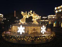 2013年12月 東京ディズニーシーでクリスマスウイッシュ