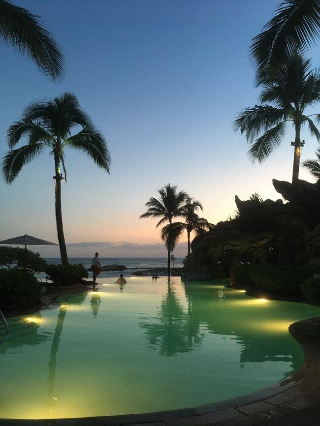 【アウラニ・ディズニー のプール&ビーチ】ハワイ・コオリナ(3度目のAulani Disney)②