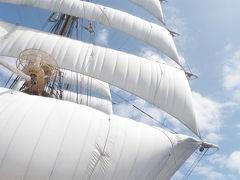 帆船海王丸 東京~ホノルルまでの乗船実習