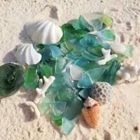【5】誰もいない砂浜でシーグラスひろい☆鹿児島県:与論島5日間