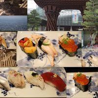 船でしか行けない秘境の一軒宿「大牧温泉」のあと ちょっとだけ井波&砺波観光&金沢美味寿司三昧で ほっこり♪ �