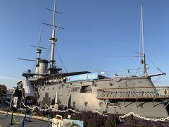 戦艦三笠と横須賀海軍カレー