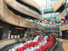 韓国 ⑪ ソウルの元祖映えスポット! 合井にあるショッピングモール『メセナポリス』のカラフルなパラソルを撮影、弘大入口からA'REXで金浦へ
