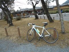 嵐山でのサイクリング