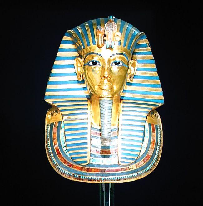 いよいよツタンカーメン黄金のマスクとご対面 エジプトLast Dayファーストクラスもね(エジプト)