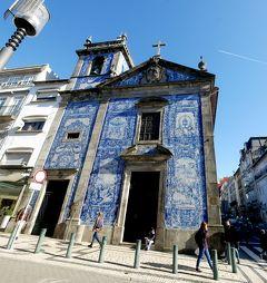 2019.2ポルトガル一人旅15‐メトロD線とA線に乗車,美しいアズレージョのアルマス礼拝堂とサントイルデフォンソ教会