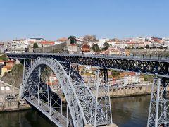 2019.2ポルトガル一人旅14‐Dom Luis 1世橋 Gaiaケーブルカー サンデマンでポートワインの試飲
