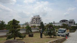 偐膝栗毛 摂津尼崎城から垂水神社へ銀輪行