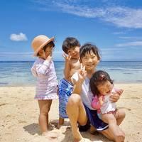 家族旅行♪初めての石垣島♪弟家族と行く0歳2歳4歳9歳連れて3泊4日8人旅!peachに乗って行ってみた!