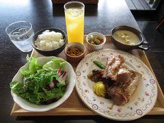 古民家レストラン「木こり亭」でスペアリブランチ