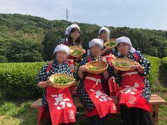 「チームうしがえる」 おばちゃん旅 日帰りバスツアー(コスプレ茶摘み)