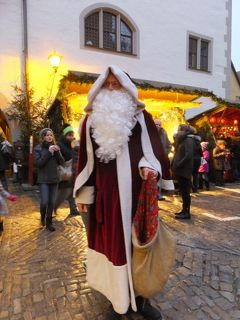 クリスマスのドイツ<ローテンブルク>Nurnberg-Ansbach-Rothenburg