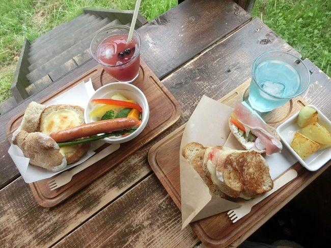私たちの通うパン教室では毎年夏に全国5カ所でセミナーが開催されるのですが、お教室の先生から「積立をして東京や大阪のセミナーに参加している方もいらっしゃるよ」との情報をいただき、それはいい考えだ!と早速積立を開始。初めて行ったのは2年前に1泊2日で大阪へ。<br /><br />その後、今度は北海道に行きたいねぇ…でも一年じゃお金貯まらないねぇ…って事で2年間の積立をして今年念願の北海道へ行って来ました。<br /><br />北海道となれば1泊じゃ絶対無理なので2泊3日に決めたのですが、ちょっと待てよ!福岡から新千歳へは行きも帰りも1日2便しかなくセミナーを組み込むとほぼ札幌から外へは行けないじゃん!どうする?ってなったときにメンバーの1人が「セミナーは辞めとく?純粋に北海道旅行にするのはどう?」との意見に「おー!いいね!いいね!」と全員一致でセミナー参加は却下となりました。<br /><br />日程についてはそれぞれの仕事の都合を考慮すると、ラベンダーの時期には少し早いけど6月に決定です。<br /><br />とっても楽しい2泊3日の旅でした!