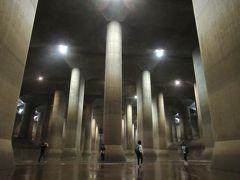 「首都圏外郭放水路」で地下神殿と第1立坑キャットウォークを歩く