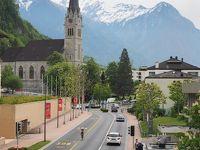 リヒテンシュタインまでの旅と街の観光