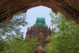 2019春、ミャンマー旅行記(9/25):5月25日(5):バガン(3):パガン朝第3代王建立のアーナンダー寺院、壁画