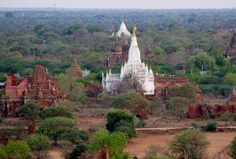 2019春、ミャンマー旅行記(13/25):5月25日(9):バガン(7):ナン・ミン・ビューイングタワー、バガン遺跡の眺望