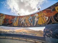 '19 モンゴル04 : チンギスハン像とザイサントルゴイ戦勝記念碑を見て禁酒デーにがっくりする