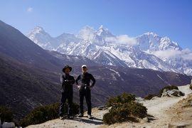 エベレスト街道274㌔巡礼の道を歩き登った記録 12.パンボチェ(3930m)~ディンボチェ(4400m)空気が薄くなる