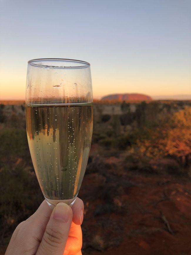 2019年の一人旅は、南半球初上陸<br />相変わらずの飲んだくれ道中記。<br /><br />行きたかった2019年10月でウルル登山が禁止決定している一方、終了したと思っていたfield of lightが2020年まで延長していることを知り、この機会を逃してはならない!の一念で、オーストラリアに4泊6日のスケジュールで初上陸。<br /><br />オーストラリアの国内線移動に自信がなかったので、JALパックのツアーに申し込み。エアとホテル、送迎とウルル観光付きで、効率よく回れました。<br /><br />オーストラリアの雄大な自然はもちろん素晴らしい中、何より感動したのは「空」<br />特にマジックアワーと言われる日没後の時間は刻々と空の色が変化しとても幻想的でした。 <br /><br />運よくvivid sydneyの期間にも当てはまり、プロジェクトマッピングも満喫。<br /><br /><br />旅のめあて<br />①ウルルに登る<br />②Field of lightに行く<br />③南十字星とカノープスを見る<br />④vivid sydnyを見物する<br />⑤opra houseの中に入る<br />⑥Applepayで電車に乗る<br />⑦生ガキを食べる<br /><br />~旅行記一覧~ (順次作成)<br /><br />■2019年6月 南半球初上陸 ウルルとシドニーひとり旅 1,2日目<br />・成田~シドニー~エアーズロックへ移動<br />・エアーズロックリゾートを散策<br />・Field of lightの現地ツアーに参加<br />・アウトバックパイオニアホテルでBBQ<br /><br />https://ssl.4travel.jp/tcs/t/editalbum/edit/11504127/<br /><br />■2019年6月 南半球初上陸 ウルルとシドニーひとり旅 3日目<br />・ウルル サンライズと登頂、クニヤ・ウォーク(ツアーに込み)<br />・カタ・ジュタ観光とウルルのサンセット(ツアーオプション)<br /><br />https://ssl.4travel.jp/tcs/t/editalbum/edit/11504720/<br /><br />■2019年6月 南半球初上陸 ウルルとシドニーひとり旅 4日目<br />・エアーズロックリゾート散策<br />・エアーズロック~シドニーへ移動<br />・ビビッドシドニー散策<br /><br />https://ssl.4travel.jp/tcs/t/editalbum/edit/11505318/<br /><br />■2019年6月 南半球初上陸 ウルルとシドニーひとり旅 5日目<br />・シドニー市内観光<br />・地下鉄・フェリー乗車<br />・シドニー夜景シャトルバス乗車<br /><br />https://ssl.4travel.jp/tcs/t/editalbum/edit/11506035/<br /><br /><br />