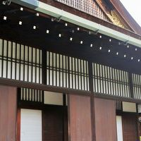 京都平成24 京都御所e 御常御殿・御三間 天皇の居所15室 ☆遣水のある御内庭も