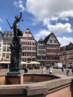 『フォトジェニックな南ドイツ(1)』フランクフルト街歩き