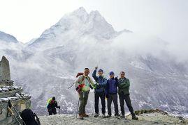 エベレスト街道274㌔巡礼の道を歩き登った記録 13.ディンボチェ(4400m)~ロブチェ(4930m)ヒマラヤ絶景