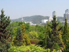 韓国 「行った所・見た所」 大田市街のハンバッ樹木園を散策しました