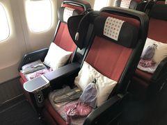 【JGC修行】JL37便 羽田→シンガポール プレミアムエコノミー搭乗記(1泊3日弾丸シンガポールの旅)
