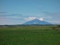 梅雨の時期、利尻富士を眺めに稚内へ