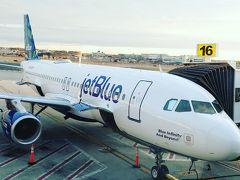 世界一周旅 - JetBlue エコノミークラス搭乗記