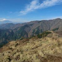 秋の丹沢と湯河原温泉・その1.月例登山報告「丹沢三ノ塔」1204mにアタック!。