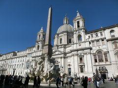 2019GW イタリア11:世界遺産ローマ ナヴォーナ広場とテスタッチョの市場