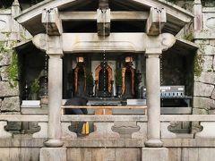 京都平成40 音羽山清水寺d 音羽の滝・地主神社・本堂下 ☆新緑の道-仁王門下に戻り